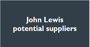 John Lewis potential suppliers