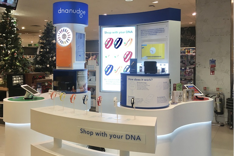 DNANUDGE POP-UP LAUNCHES IN WAITROSE & PARTNERS CANARY WHARF AND JOHN LEWIS & PARTNERS, WHITE CITY