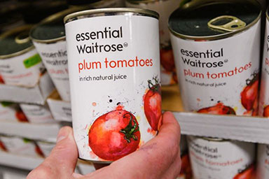 WAITROSE MAKES CANNY MOVE WITH REMOVAL OF PLASTIC ON BESTSELLING STAPLE FOODS