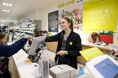 JOHN LEWIS PARTNERSHIP EXPANDS ITS CLICK & COLLECT NETWORK