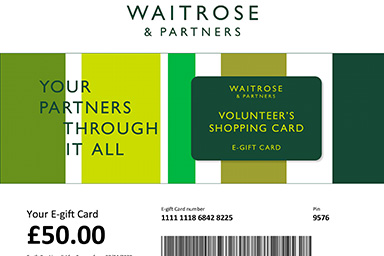 Waitrose launches 'Volunteer's Shopping Card' e-gift card to help those shopping for elderly, vulnerable and self-isolating customers