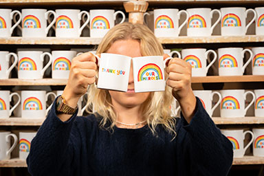 JOHN LEWIS PARTNERSHIP ANNOUNCES £1.4M DONATION TO LOCAL CHARITIES AND DESIGNS MUG TO RAISE FUNDS IN AID OF NHS CHARITIES TOGETHER